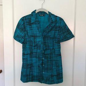 AP9 short sleeve fitted dress shirt